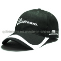 Constructed Cotton Twill Embroidery Sport Baseball Golf Cap (TMB6234)