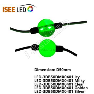 DMX video 3D LED ball sphere string curtain