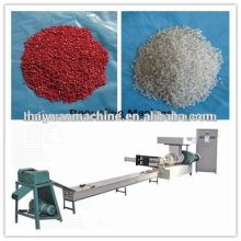 High efficiency recycled plastic machines