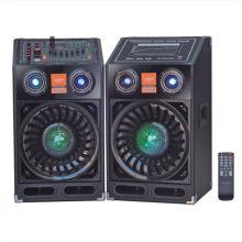 PA Altavoz Bluetooth 666t para uso en escenarios y en el hogar
