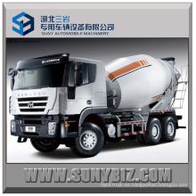 Camión cisterna mezclador cúbico 6X4 Camión mezclador de hormigón 6X4