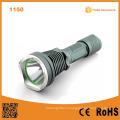 1150 10W 500 люмен алюминиевый аккумулятор фонарик