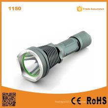 1150 10W 500 Lumens Lampe de poche rechargeable en aluminium