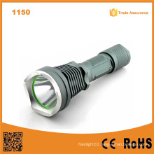 1150 10W 500 Lumens Aluminum Rechargeable Flashlight