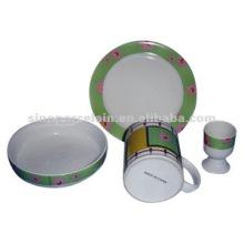 Pequeno-almoço de porcelana 4pcs definido para BS04500