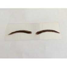 Prix usine en gros fait à la main dentelle ou PU type différent faux sourcil