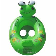 Симпатичные маленькие лягушки животных надувной детский плавать кольцо
