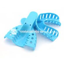 Plateaux d'impression Autoclavable de haute qualité plateau d'impression plastique dentaire