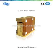 2016 Oriental-laser 808nm 600 Watt Haarentfernung Diode Laser Maschine Chip Stacks