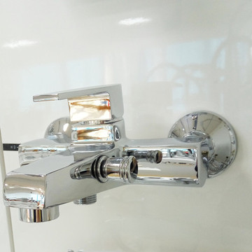 Chrome Brass Polish Finish Shower Shower & Bathtub Mixer