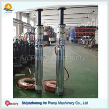 Qj Irrigation Cylindre en acier inoxydable Pompe de puits profond submersible