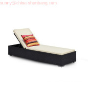 Outdoor Furniture, Rattan Chaise Lounge, Sunbed (HB51.9121)