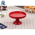 Custom Wedding Party Decoration Ceramics Tableware Ceramic Cake Stand