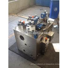 Colector de válvula de controle hidráulico para prensa hidráulica de 600 ton