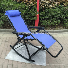 Beste Wahl-Produkte für Schwerelosigkeits-Stühle Fall von schwarzen Klubsessel-im Freienyard-Strand