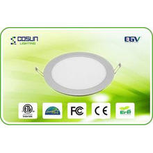 8W Eco-Friendly Round LED Flat Panel Lights / 4 Inch LED Do