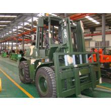 4x4 Rough Terrain Forklift 7 ton