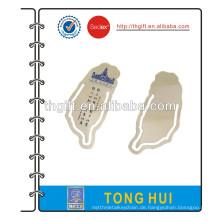 Metall Lesezeichen mit Taiwan Tempel Design