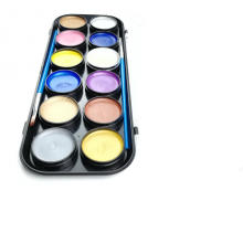 Rainbow party supplies professionnel peinture du corps du visage