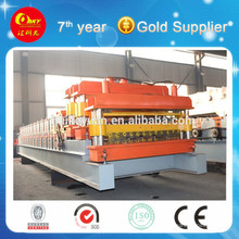 Colored Steel Wall Plate Roll Forming Machine Line Making Building Material (HKY)