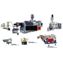 Línea de granulación de pellets de PVC Pelletizing Machine