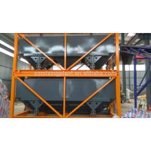 Silo de cimento horizontal empilhável para exportação