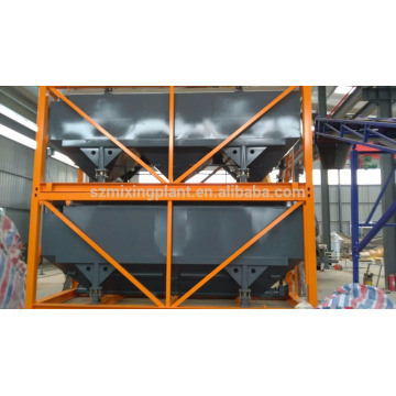 Stapelbares horizontales Zementsilo für den Export
