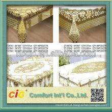 Laço da tampa de pano da tabela do PVC do Crochet na parte
