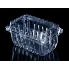 emballage plateau en plastique pour fruits et légumes à clapet