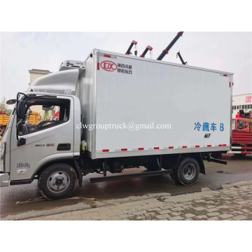 Foton 4x2 small van cold storage freezer truck
