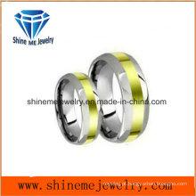 Anéis de dedo da jóia da moda de aço inoxidável