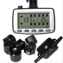 Live Tire Pressure and Temperature Monitoring Solution