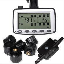 Solução de monitoramento de pressão e temperatura de pneus ao vivo