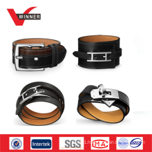 Adjustable wholesale leather bracelet belt