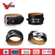 Ajustável atacado pulseira pulseira de couro