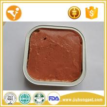 Halal Cat Food Caramel frais Viande Healthy Wet Cat Food