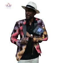 ethnic tribal casual slim fit flora printed African prince coat clothing Dashiki cotton jawa wax men buisiness Jacket suit