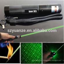 Pointeur laser vert rechargeable puissant haute puissance de 5 mW 532nm