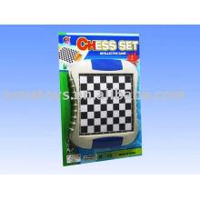 Brinquedo educativo para crianças brinquedo de xadrez plástico