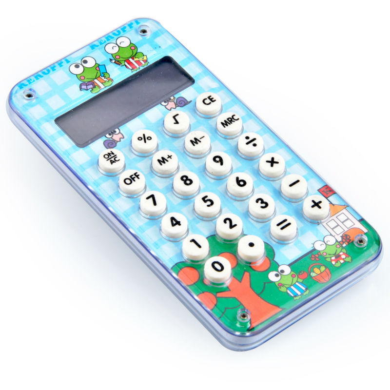 10 chiffres Cute Funny Pocket Calculator with Maze Game