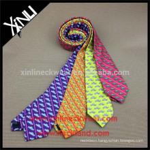 100% Handmade Perfect Knot Silk Printed Tie Custom Print