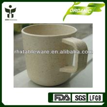 Taza de bambú sostenible