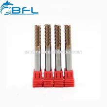 BFL-CNC-Maschinen-Schneidwerkzeuge, Hartmetall 6 Flöten, die Schaftfräser für Stahl fertig stellen