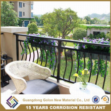 Curve Galvanized Steel Apartment Balcony Fence