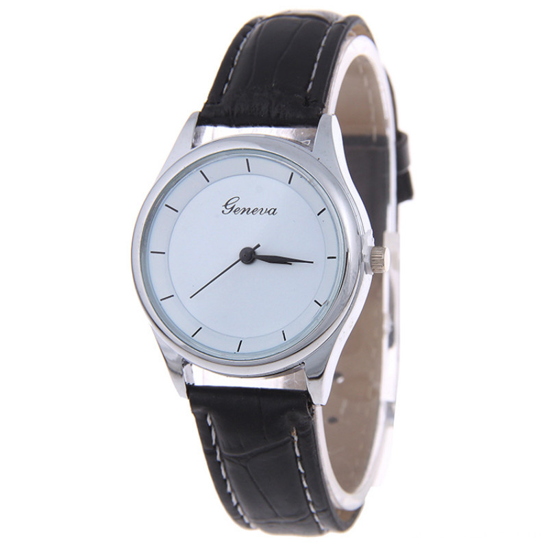 2016 New Arrival Couple Quartz Leather Wrist Watch