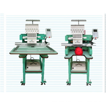 Embroidery Machine with a Single Head