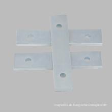 Rechteck Bar mit Loch geformten Magneten Neodym Magnete