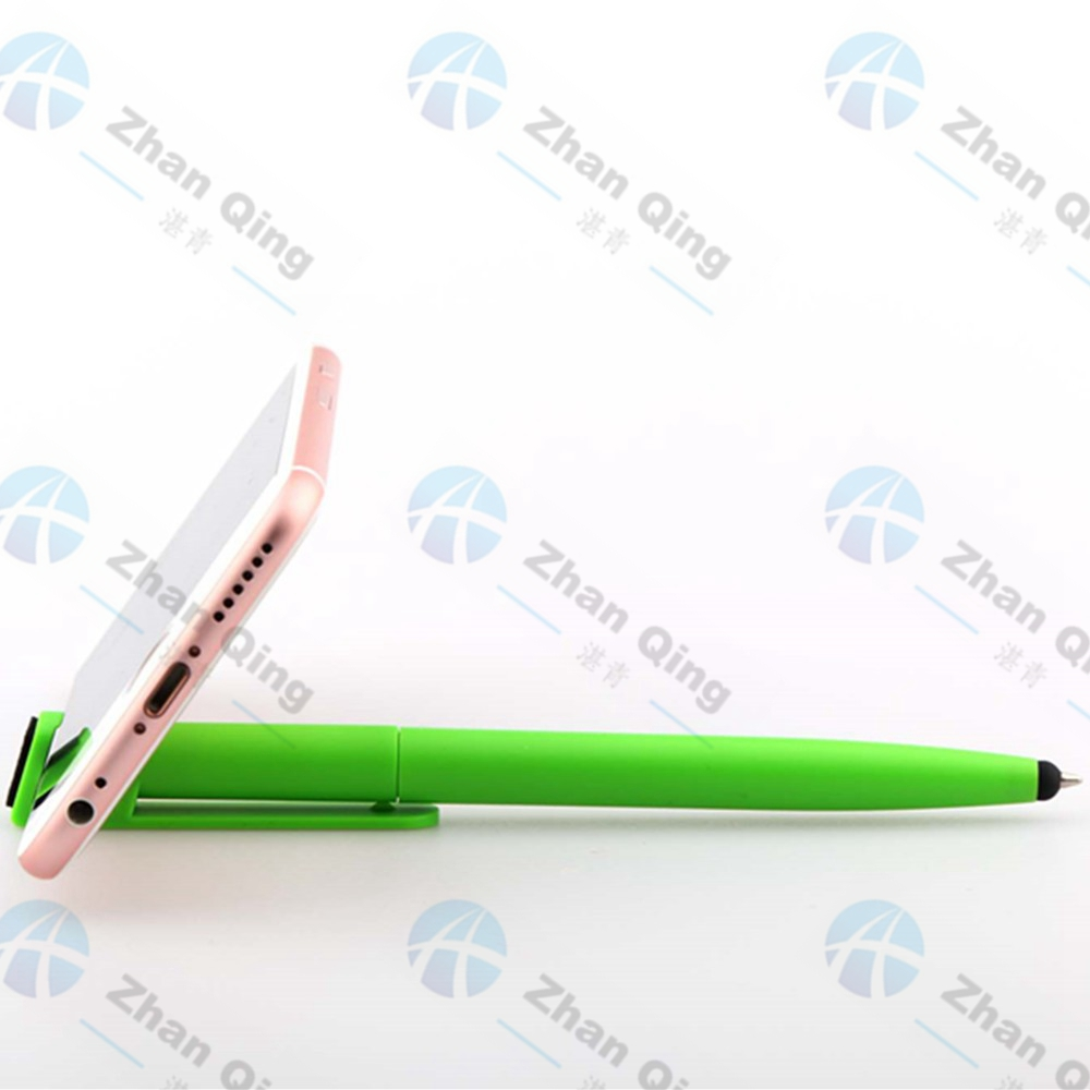 Frost Plastic Pen with Touch Stylus