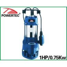 1HP 0.75kw Dalgıç Pompa (WQD7-10-0.75A)