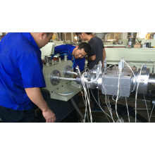 PVC Wire Protection Pipe Extrusion Machine